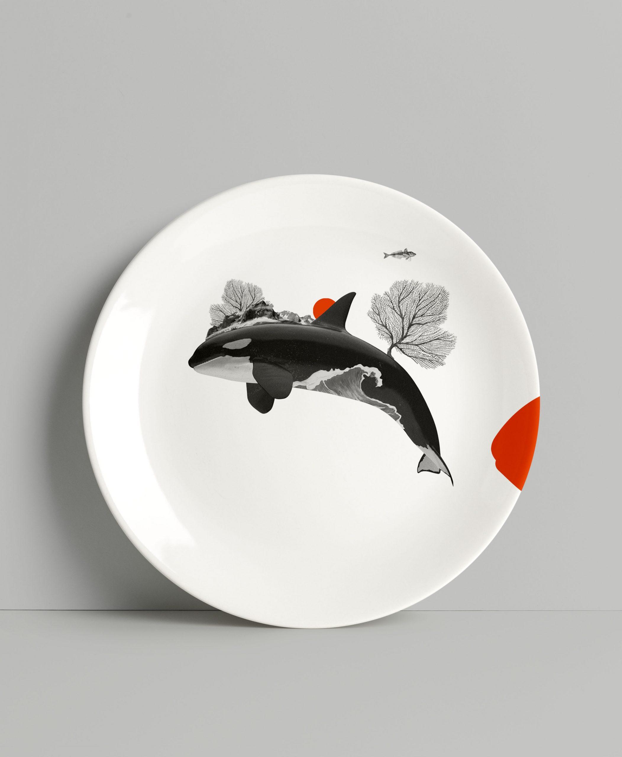 Plato orca antartida